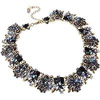 Collana da Donna Girocollo con Diamante Luminoso Regalo