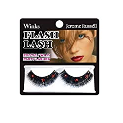 Red & Gold Daisies : Jerome Russell Winks Flash Lash, Red and Gold Daisies