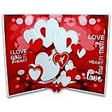 Suridblue Love Pop-Up 3D Greeting Card