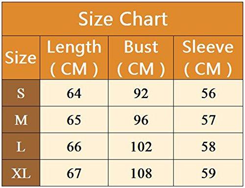 Modetrend Femmes Chemise Manche Longue Bandage Shirts Tops Décontractée Nœud Papillon Blouse T Shirt Jaune