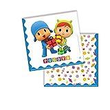 Verbetena, 016001507, pack 20 napkins pocoyo and nina, paper napkins.