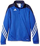 adidas Jungen Sweatshirt Sereno14 Trainingstop, Cobalt/New Navy/White, 164