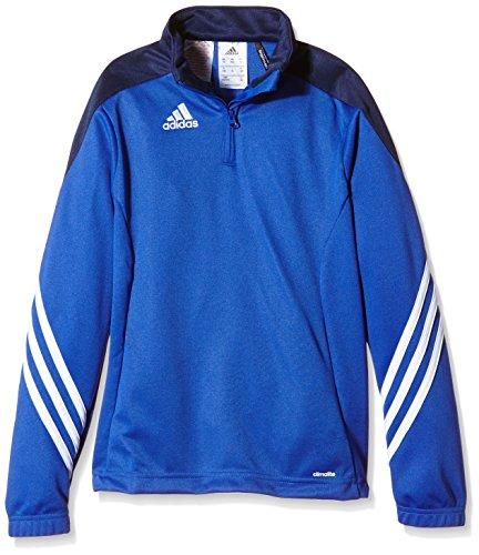 adidas Jungen Sweatshirt Sereno14 Trainingstop, Cobalt/Newnav/Weiß, 116, F49717