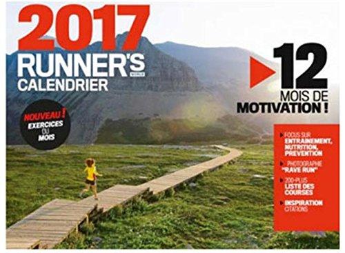Calendrier Runner's World 2017