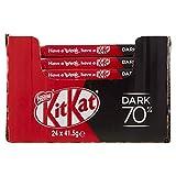 KitKat Dark 70% Wafer Ricoperto di Cioccolato Fondente - 24 snack