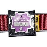 Halsbandtasche Leder für Hundemarke 40x40mm