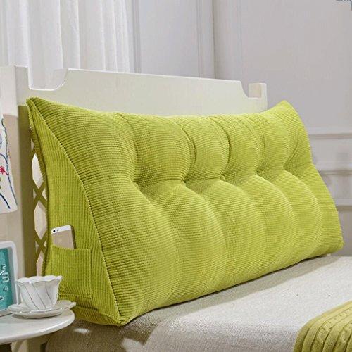 Unbekannt THBEIBEI Schlafsofa große Füllung Dreieck Keil Kissen Schlafzimmer Bett zurück Kissen Taille Pad abnehmbar (Farbe : E, größe : 200cm)