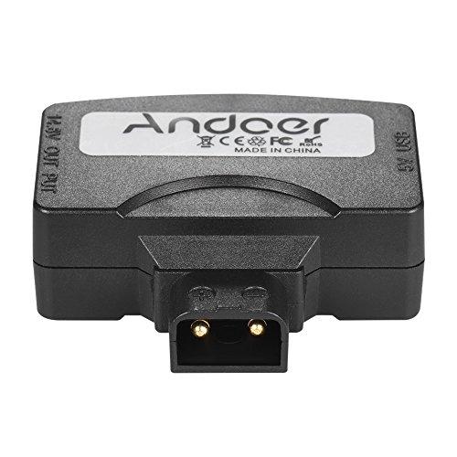 Andoer D-Tap Para 5V USB Adaptador Conector