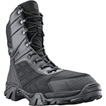 "BLACKHAWK. Fuerza 8 ""botas de táctica impermeable nailon, Unisex, Blackhawk Force Boot, 8 Medium, negro"