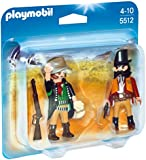 Playmobil 5512 Western Sheriff and Outlaw Duo Pack