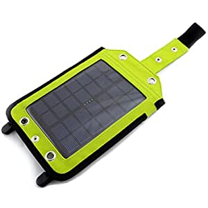 Solar 1200mAh PowerBank, Le plus grand panneau solaire 2W, Chargeur solaire i(iPhone, Nokia, Samsung, Sony Ericsson, Sony, HTC, LG, Sagem, Balckberry, Asus, Dell, ZTE, Sharp), GPS, MP3/MP4 - 5V, 500mA