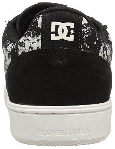 DC Mens Astor TX LE Skateboarding Shoe Black Marl