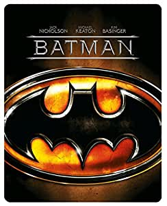 Batman - Limited Edition Steelbook [Blu-ray] [1989] [Region Free]