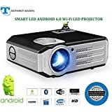10-15 Year's Long Life Projector>TS-HD12A>ANDROID 6.0 With Wi-fi>HD LED Projector>4200Lumens>native Resolution 1280x800 Up-to 4k Video Support >home Cinema >education>office Purpose With Big Projection Screen