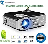 #6: 10-15 year's long Life Projector>TS-HD12A>ANDROID 6.0 with wi-fi>HD LED projector>4200Lumens>native resolution 1280x800 up-to 4k video support >home cinema >education>office purpose with big projection screen