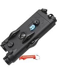 DBOYS PEQ-2 Style Airsoft AEG Bater?as Case - AirsoftGoGo Llavero Incluido