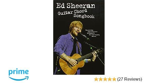 Ed Sheeran: Guitar Chord Songbook: Amazon.co.uk: Ed Sheeran: Books