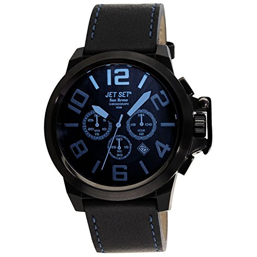 Jet Set Orologio con Movimento al Quarzo Giapponese Man J6190B-667 52 mm