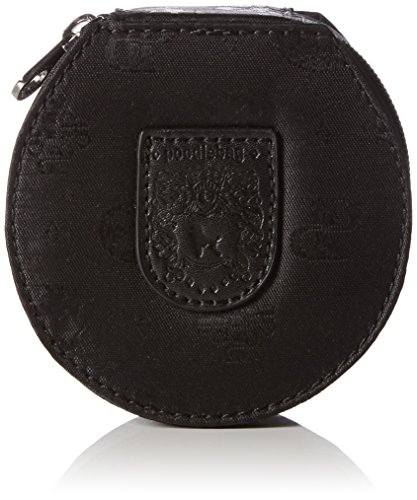 Poodlebags Damen Club - united - jewel box Kosmetiktaschen, Schwarz (black), 11x11x5 cm
