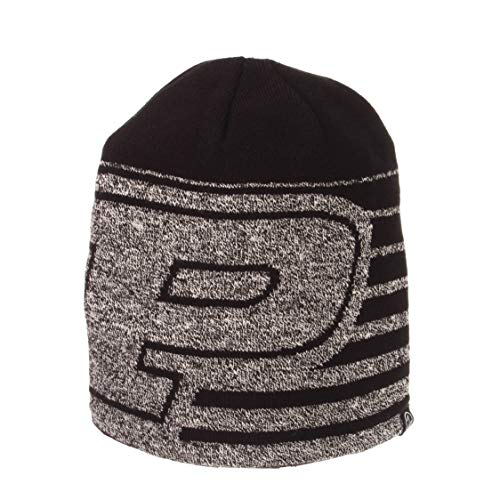 ZHATS NCAA Purdue Boilermakers Mens Stratastrata Knit, Black, One Size