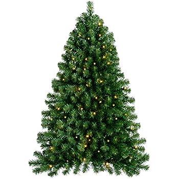 werchristmas pre lit wall mounted christmas tree with 80 warm white led lights 4 feet12 m green - Half Wall Christmas Tree