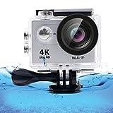 SZPLUS 4K Wasserdichtes Sport-Actionkamera, 170° Weitwinkellinse, Full HD 1080P WiFi HDMI camcorder Mit Zubehörset