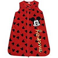 Disney Mickey Mouse Fleece Sleeper Sleepsuit All In One Grow Bag Baby Girls Boys 6-12 Months by Disney - Blanket Nursery Bedding