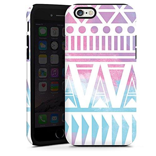 Apple iPhone 5s Housse Outdoor Étui militaire Coque Pastel Galaxie Printemps Cas Tough terne