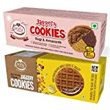 #10: Early Foods - Assorted Pack of 2 - Organic Dry Fruit & Ragi Amaranth Jaggery Cookies X 2