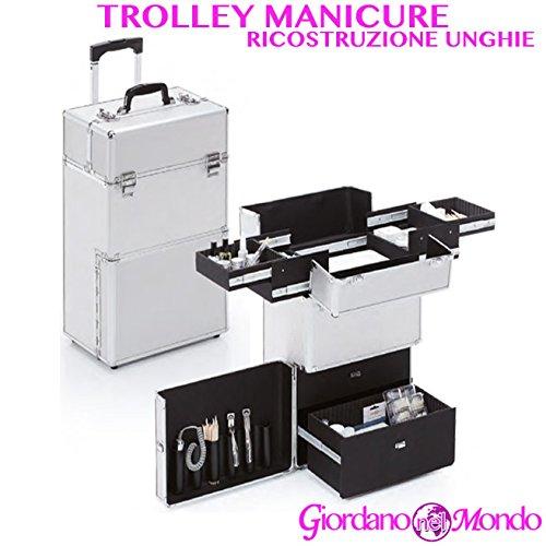 Trolley Reconstruction Ongle Manucure Nail Art professionnelle pour esthéticienne