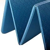Gymnastikmatte Faltbar 180 cm PVC Frei, Blau ...Vergleich