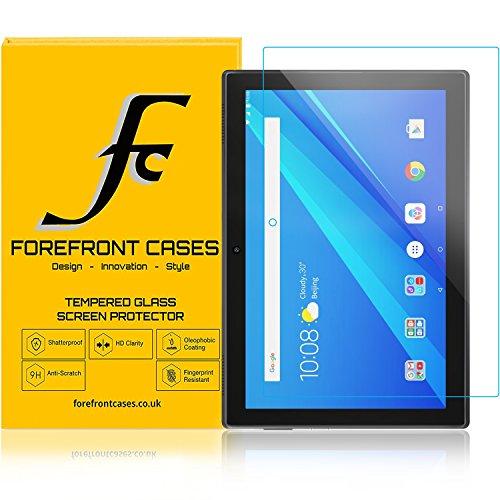 Forefront Cases Lenovo Tab 4 10 / Lenovo Tab4 10 25,65 cm (10,1 Zoll HD IPS Touch) Tablet-PC [HD KLARHEIT] Gehärtetes Glas Panzerglas Folie Schutzfolie Screen Protector [Ultra DÜNN nur 0.3mm]