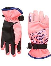Roxy Girl's Poppy Snowboarding/Ski Gloves–8–16, Womens, POPPY GIRL GLOVES