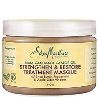 SheaMoistureJamaican Black Castor Oil Strengthen, Restore Treatment Masque | 12 fl.oz.