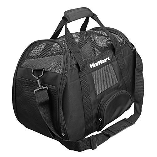 dog-carrier-mixmart-deluxe-soft-sided-airline-approved-airport-pet-carrier-travel-bag-for-dogs-cats-