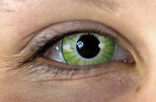 Electro/Green 3-Monatslinsen Linsen Crazy Kontaktlinsen!