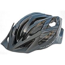 Prowell F5000R Cyclone casco da bicicletta (nero, Medium)