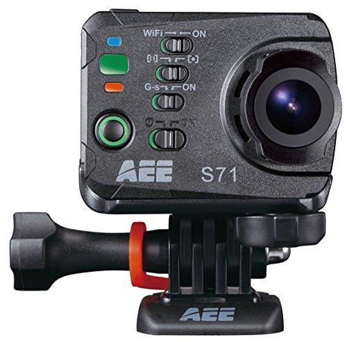 """AEE S71 cámara para deporte de acción - Cámara deportiva (3840 x 2160 Pixeles, 2704 x 1524, 1280 x 720, 1280 x 960, 1920 x 1080, 3840 x 2160 Pixeles, 1080p, 720p, 960p, CMOS, 16 MP, 1/0,0906 mm (1/2.3"""")) Negro"""