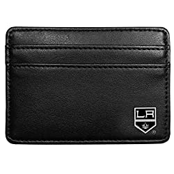 NHL Los Angeles Kings Leather Weekend Wallet, Black