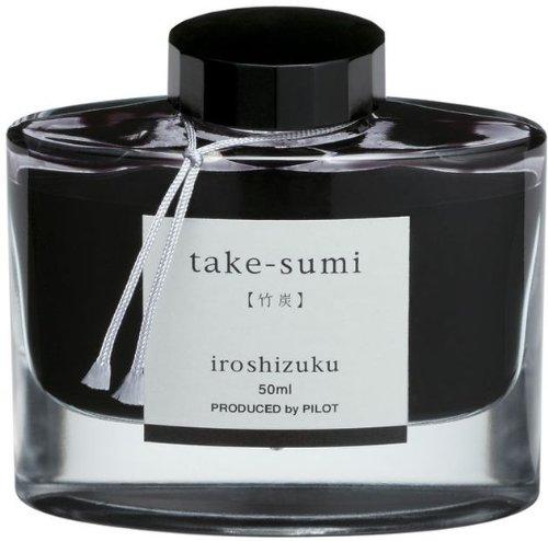 Pilot Iroshizuku abgefüllt Füllhalter Tinte, Take-Sumi, Bambus, Anthrazit, Schwarz (69224)