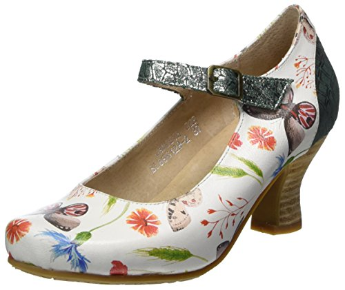 Laura Vita Damen Candice 028 Mary Jane Halbschuhe