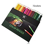 72 full size colouring pencils set in 72 colours,Premium Art Coloured Drawing Pencils