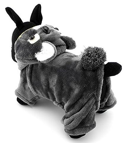 Ranphy Koala Motif petit chien chat Polaire Pyjama tenues pour