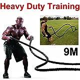 Sports Equipment Best Deals - tinkertonk 38mm TRAINING BATTLING BATTLE POWER ROPE SPORT GYM EXERCISE FITNESS