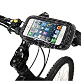Rocina S-IP5G-1207 - Soporte de bicicleta para Apple iPhone 5, negro