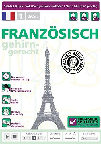 Birkenbihl Sprachen: Französisch gehirn-gerecht, 1 Basis Sprachen Lernen Software