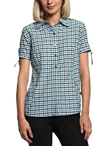 The North Face Women's Short Sleeve Wadi Shirt - Kodiak Blue, X-Small