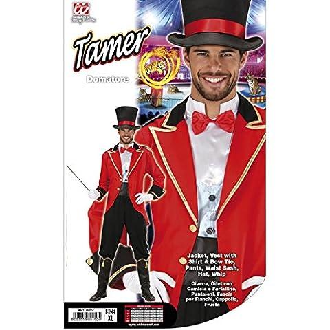 Dompteur Zirkuskostüm Zirkus Herrenkostüm XL 54 Zirkusuniform Artistenkostüm Zirkusdirektor Kostüm Karnevalskostüm Männer Faschingskostüm Löwenbändiger Jahrmarkt Herren Uniform