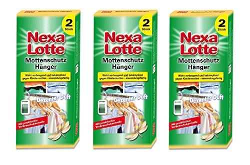 Oleanderhof Sparset: 3 x SCOTTS Nexa Lotte® Mottenschutz-Hänger, 2 Stück + gratis Oleanderhof Flyer