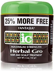 IC Maximum Strength Herbal Gro - Hair & Scalp Treatment - 142g